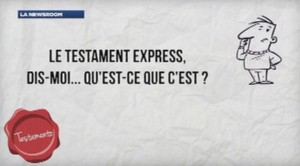 rédaction d'un testament