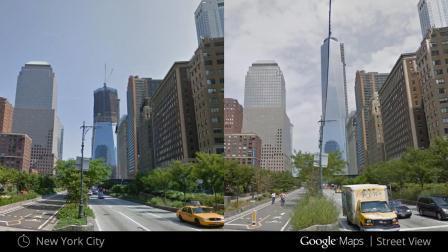 google street view remonte le temps