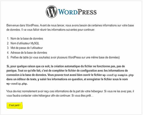 Installer WordPress sur un serveur local