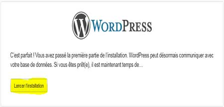 Installer wordpress sur un Wampserver