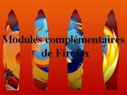 les modules complémentaires de Firefox