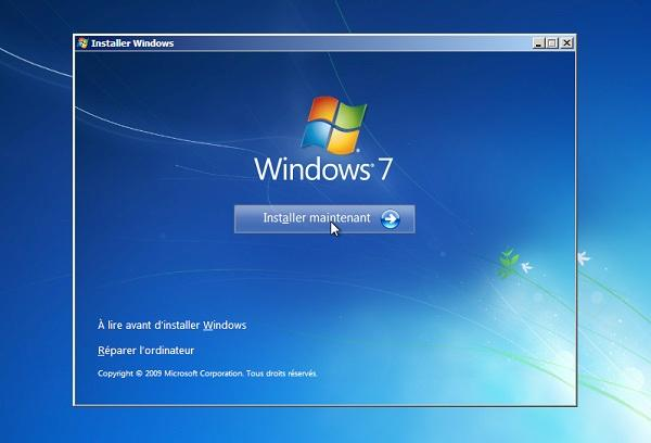 comment installer les pilotes dans Windows 7 manuellement