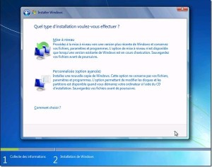 comment installer windows 7 installation de windows 7