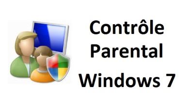 Contrôle parental pour un utilisateur