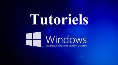 Tutoriels Windows