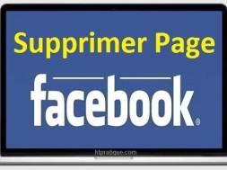 Comment Supprimer une page facebook