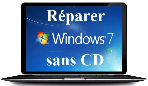 comment r u00e9parer windows 7 sans cd d u0026 39 installation