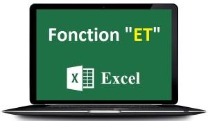 La fonction ET Excel ET