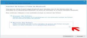 procéder à vos transferts de fichier via bluetooth 2