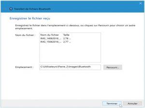 procéder à vos transferts de fichier via bluetooth 5