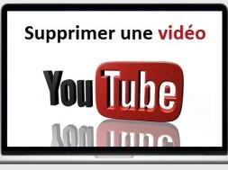 Comment supprimer une vidéo youtube