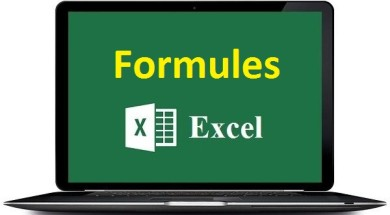 Formules Excel fonctions excel tutoriels excel