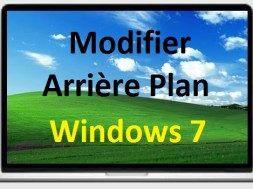 Modifier arri re plan du bureau de windows 7 for Arrieres plans de bureau gratuits