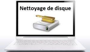 Nettoyer un disque dur