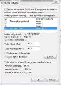 Augmenter la RAM de son PC avec une clé USB