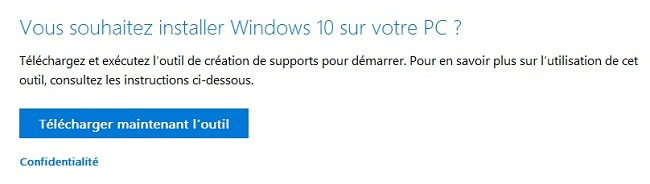 1 Créer un support d'installation de Windows 10 créer une clé USB d'installation de Windows 10 DVD Windows 10 clé USB windows 10