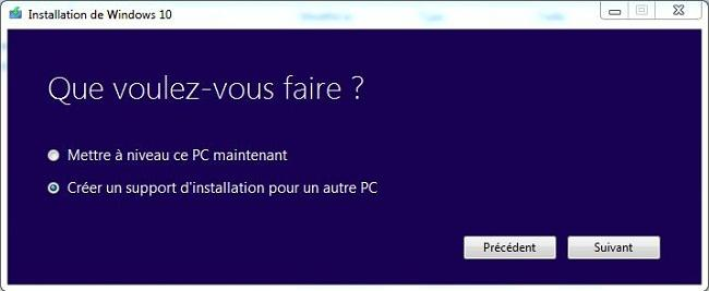 3 Créer un support d'installation de Windows 10 créer une clé USB d'installation de Windows 10 DVD Windows 10 clé USB windows 10