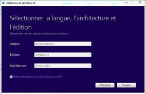 4 Créer un support d'installation de Windows 10 créer une clé USB d'installation de Windows 10 DVD Windows 10 clé USB windows 10
