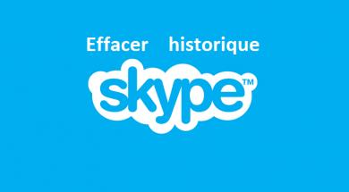 Comment effacer l'historique de skype