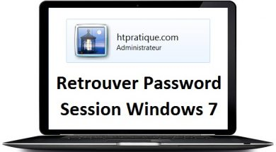 Retrouver mot de passe d'une session windows 7 oublié mot de passe oublié windows 7