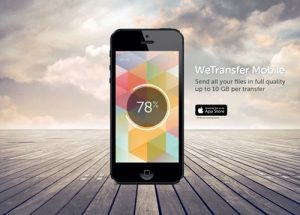 wetransfer application