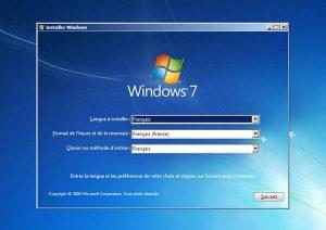 comment réparer windows 7 avec cd d'installation