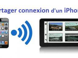 Activer le partage de connexion iPhone