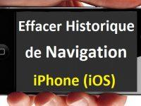Comment effacer l'historique de navigation sur iPhone iOS
