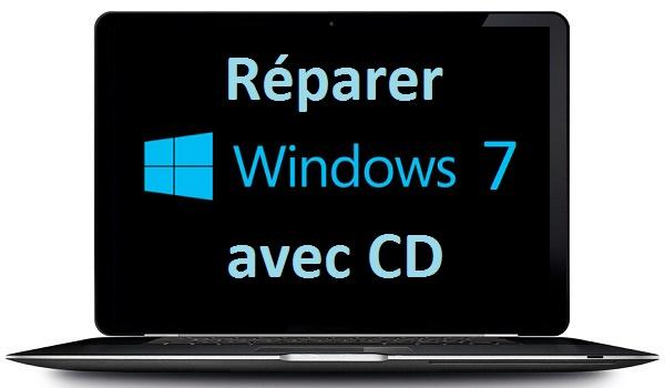 comment r parer windows 7 avec cd d 39 installation. Black Bedroom Furniture Sets. Home Design Ideas