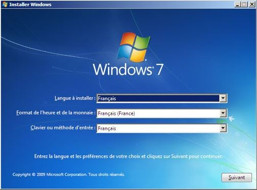 Comment réparer le démarrage de windows 7