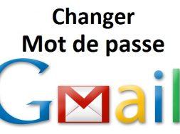 Comment changer son mot de passe gmail modifier mot de passe gmail