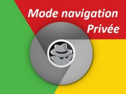 Mode navigation privée - surf anonyme