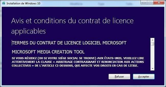 2-installation-de-windows-10-avis-et-conditions-du-contrat-de-licence-applicables