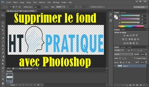 Comment supprimer le fond d'une image avec Photoshop