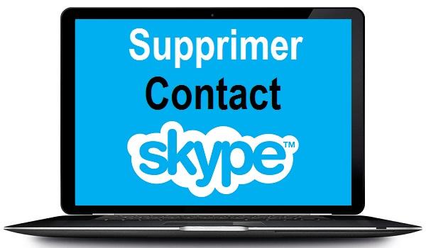 comment supprimer un contact sur skype  supprimer contact