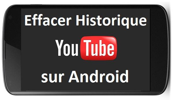 comment supprimer l 39 historique de youtube sur android. Black Bedroom Furniture Sets. Home Design Ideas