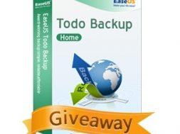 Offre promotionnelle EaseUS Todo Backup Home 9.2 gratuit pendant 4 jours giveaway