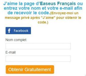 Offre promotionnelle EaseUS Todo Backup Home 9.2 gratuit pendant 4 jours.