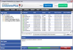 Undelete Plus logiciel pour récupérer facilement tout type de fichier