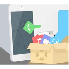 récupération de données avec PhoneRescue