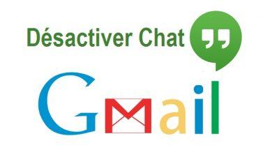Désactiver le chat sur gmail Activer le chat sur gmail compte gmail