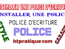 Comment installer une police d'écriture gratuite en ligne police d'écriture en ligne police de caractère telecharger police differente ecriture