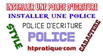 Comment installer une police d'écriture gratuite en ligne police d'écriture en ligne police de caractère telecharger police differente ecriture