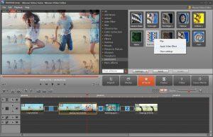 L'ajout d'effet dans une vidéo Movavi Screen Capture Studio 8