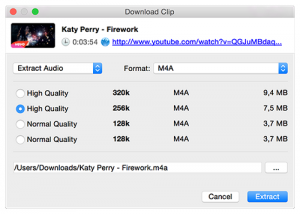 La plateforme de 4K Video Downloader
