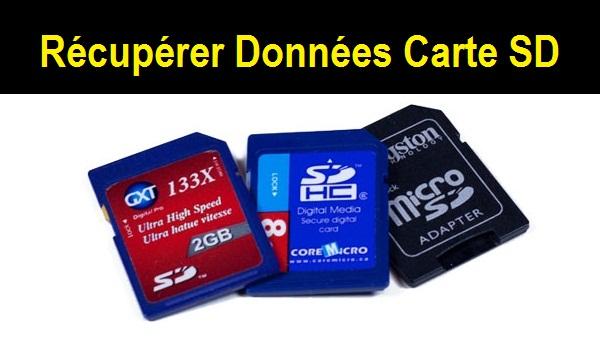 Télécharger la carte SD photo logiciel Undelete gratuitement à partir du lien ci-dessus et de récupérer les images supprimées ou formatées perdues depuis une carte SD. Toutes les cartes SD ...