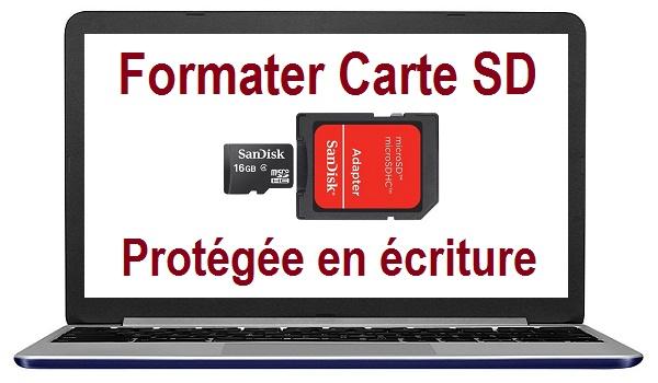 disque protégé en écriture carte sd comment formater une carte sd protégée en écriture carte micro sd
