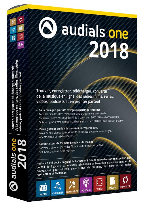 Audials One 2018 Logiciel