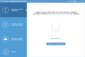 Récupérer les messages supprimés de votre iPhone