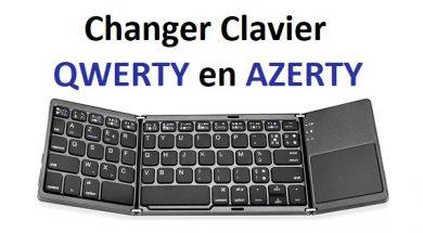 Comment changer clavier QWERTY en AZERTY Windows 10 remettre clavier en azerty changer qwerty en azerty comment remettre son clavier en azerty windows 10